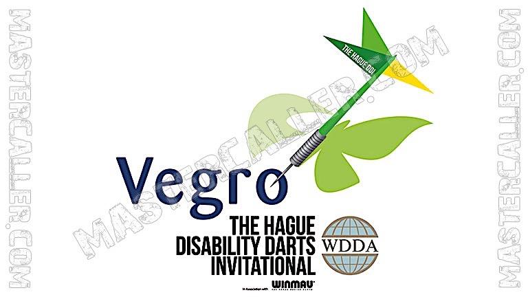 The Hague Disability Darts Invitational - 2019 WC Logo