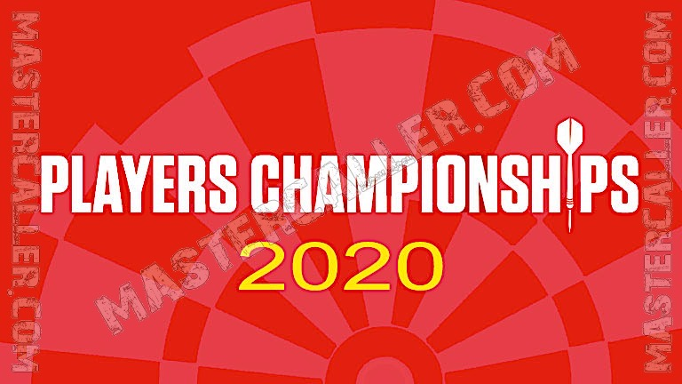 Players Championships - 2020 PC 20 Winter Series Logo