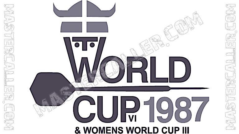 WDF World Cup Women Pairs - 1987 Logo