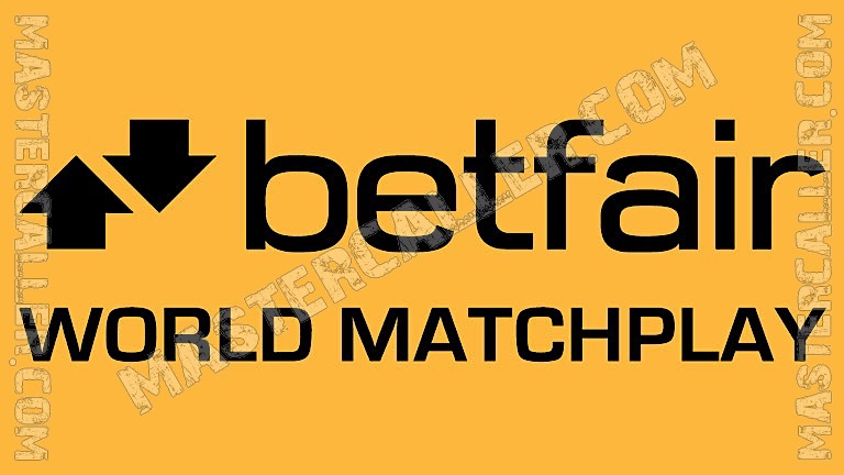World Matchplay - 2012 Logo