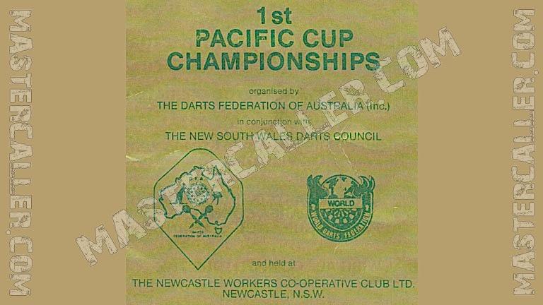 WDF Pacific Cup Women Singles - 1980 Logo