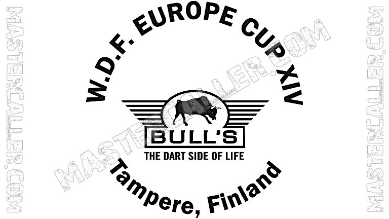 WDF Europe Cup Men Teams - 2004 Logo