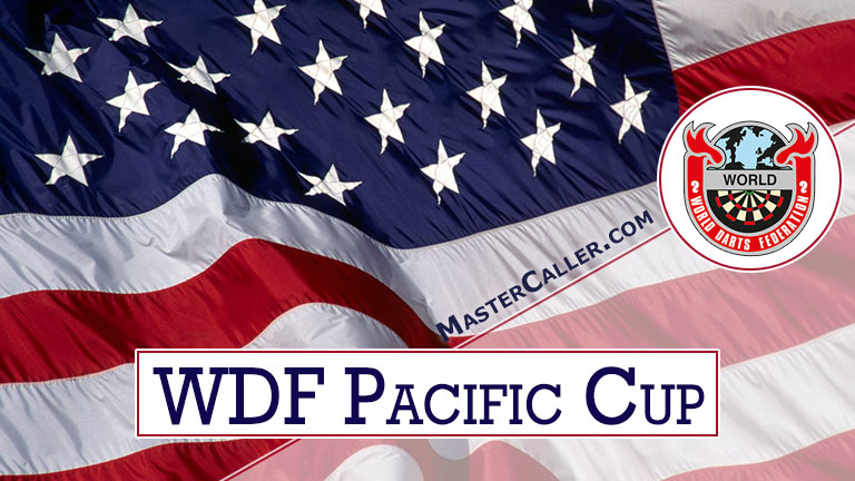 WDF Pacific Cup Mixed Pairs - 1984 Logo