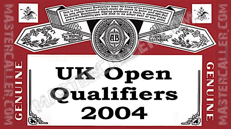 UK Open Qualifiers - 2004 UK QF 1 Dublin Logo