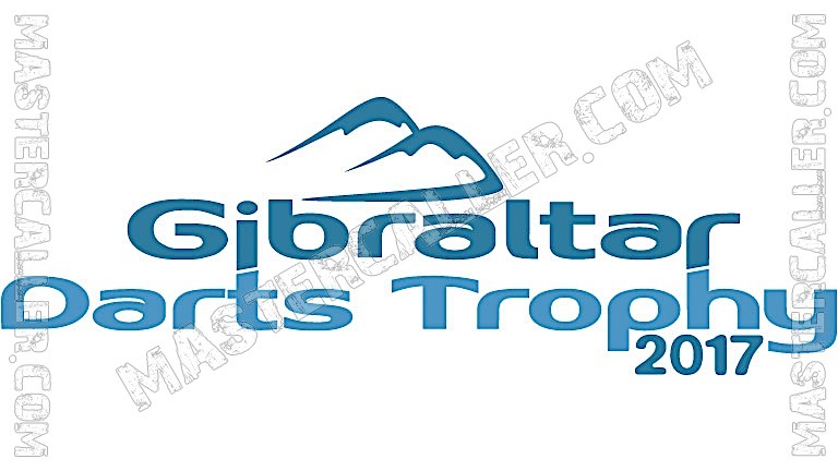 Gibraltar Darts Trophy Qualifiers - 2017 N&B Logo
