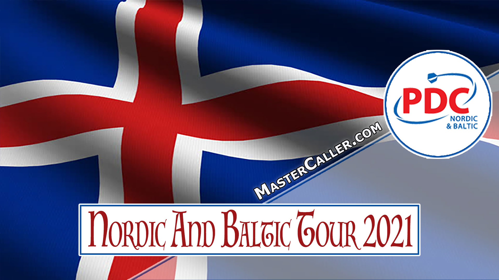 PDC Nordic & Baltic Tour - 2021 NB 04 Reykjavik Logo