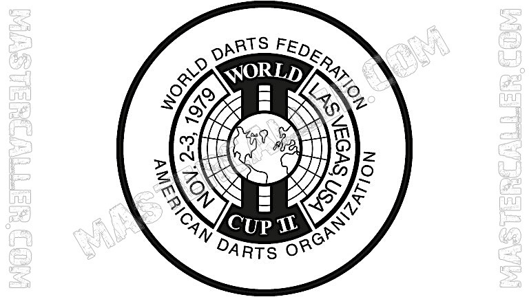 WDF World Cup Men Teams - 1979 Logo