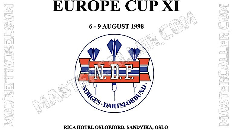 WDF Europe Cup Ladies Overall - 1998 Logo