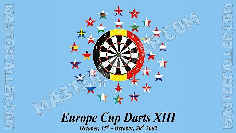 WDF Europe Cup Men Teams - 2002 Logo