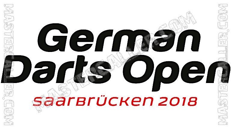 German Darts Open Qualifiers - 2018 UK Logo