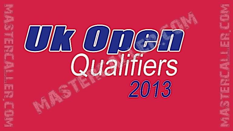 UK Open Qualifiers - 2013 UK QF 1 Crawley Logo