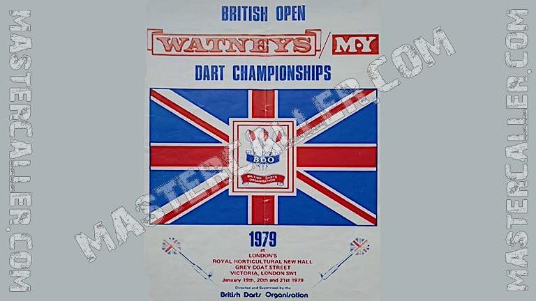 British Open Men - 1979 Logo