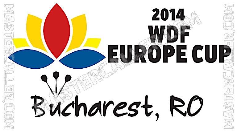 WDF Europe Cup Men Teams - 2014 Logo