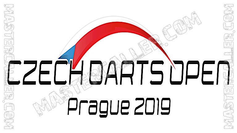 Czech Darts Open Qualifiers - 2019 N&B Logo