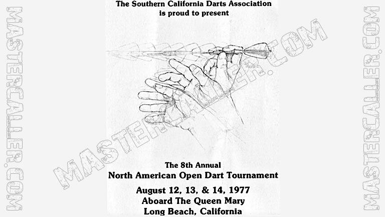 North American Open Men - 1977 Logo