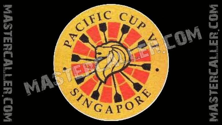 WDF Pacific Cup Men Singles - 1990 Logo