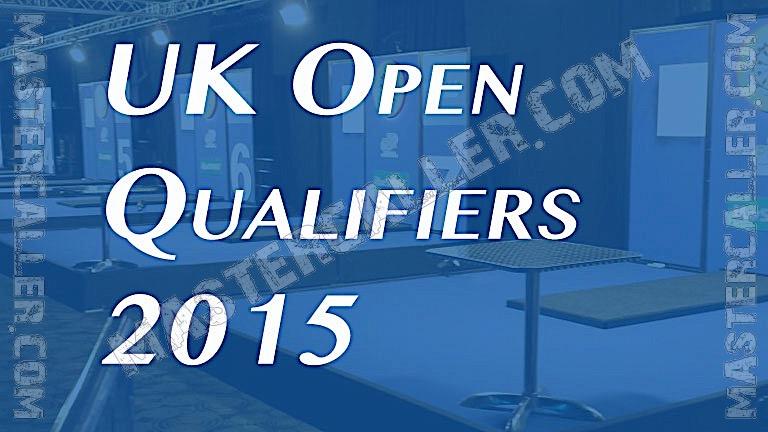 UK Open Qualifiers - 2015 UK QF 3 Wigan Logo