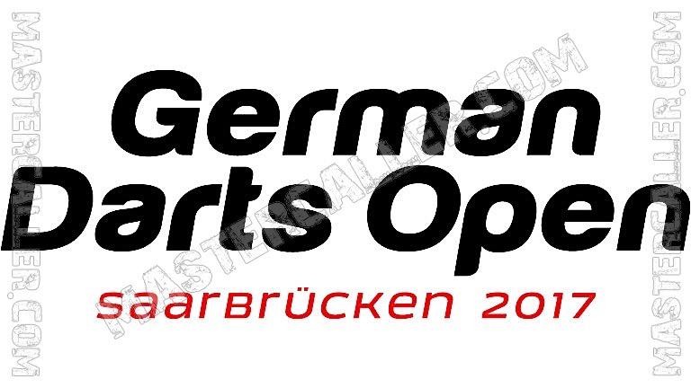 German Darts Open Qualifiers - 2017 UK Logo