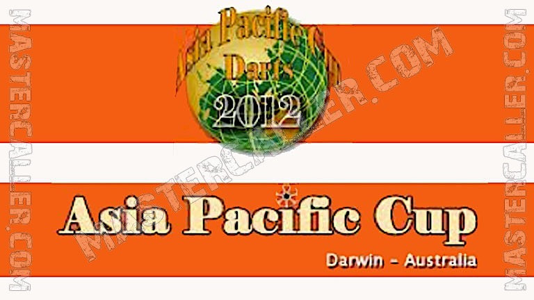 WDF Asia-Pacific Cup Overall - 2012 Logo