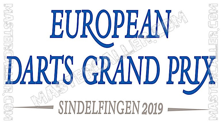 European Darts Grand Prix - 2019 Logo