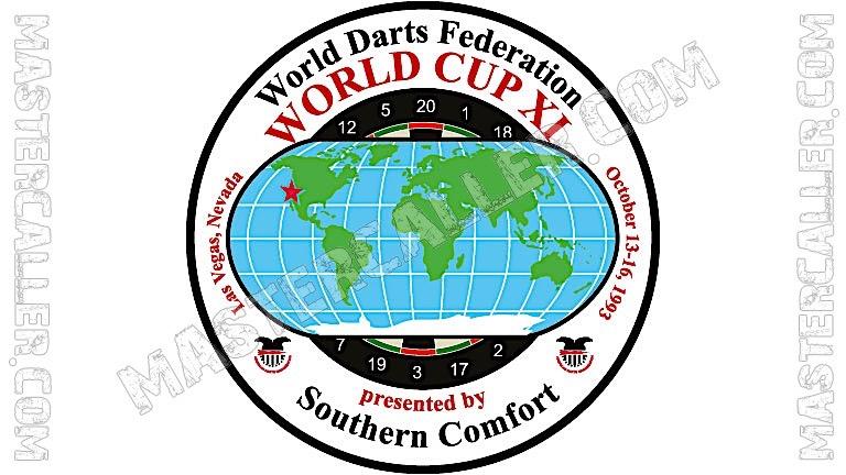 WDF World Cup Men Teams - 1993 Logo
