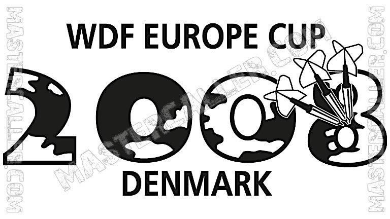 WDF Europe Cup Men Singles - 2008 Logo