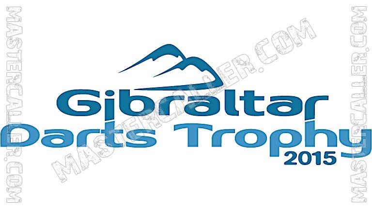 Gibraltar Darts Trophy - 2015 Logo