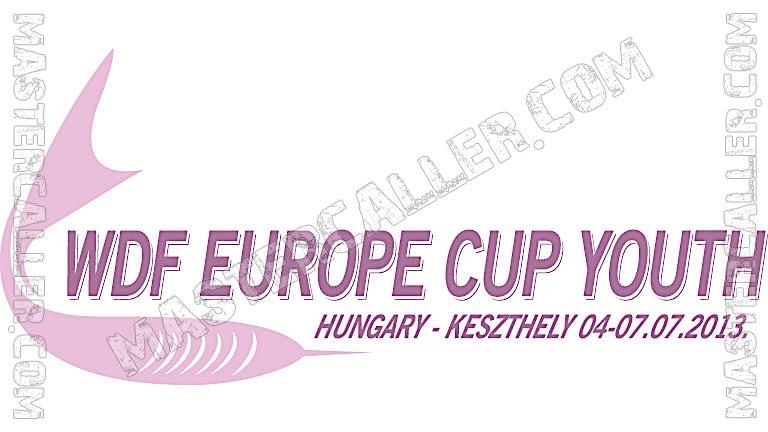 WDF Europe Cup Youth Boys Teams - 2013 Logo