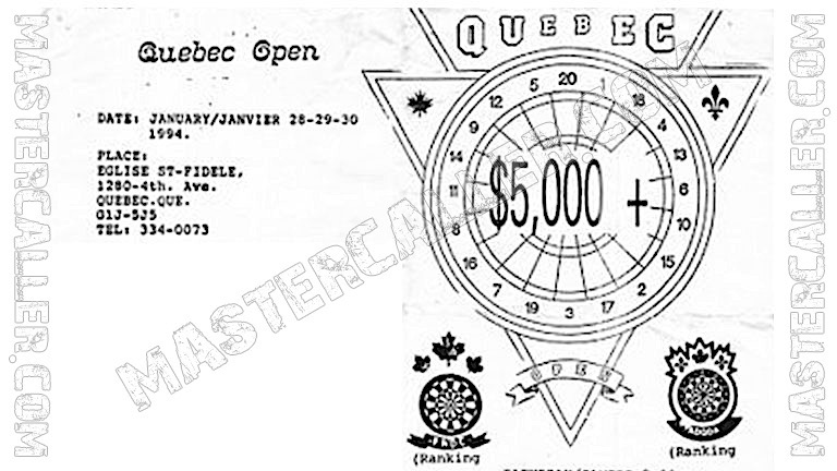 Quebec Open Women - 1994 Logo