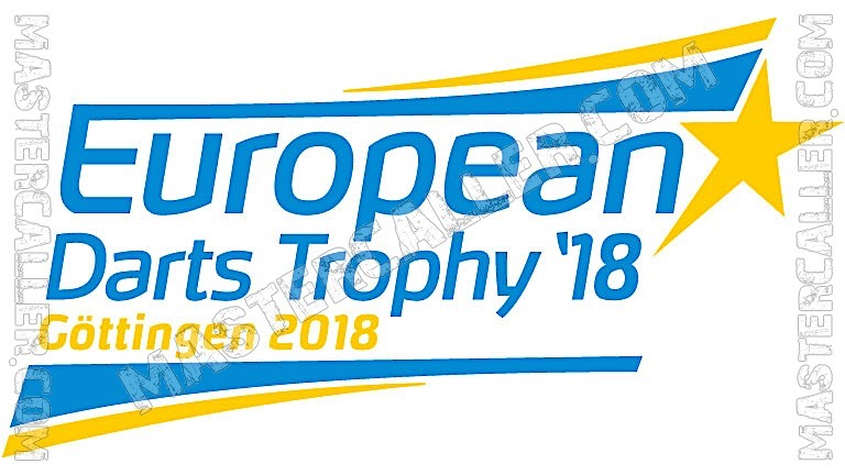 European Darts Trophy - 2018 Logo