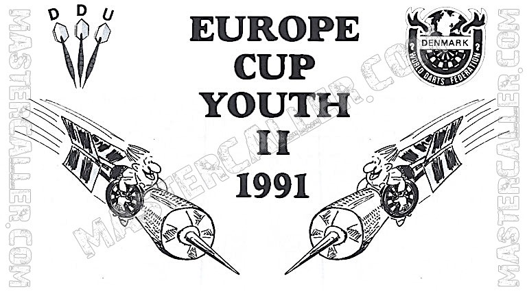 WDF Europe Cup Youth Girls Singles - 1991 Logo