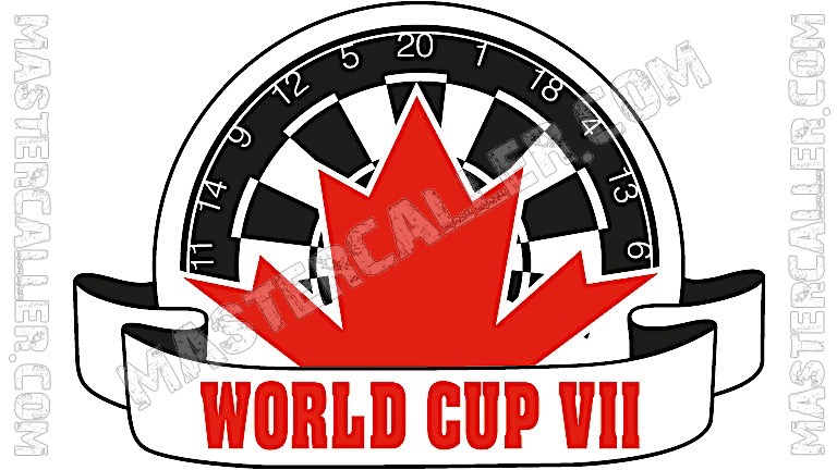 WDF World Cup Men Overall - 1989 Logo
