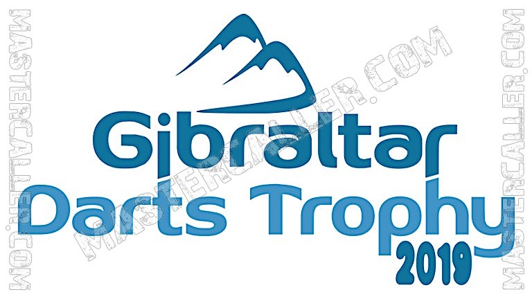 Gibraltar Darts Trophy Qualifiers - 2019 N&B Logo