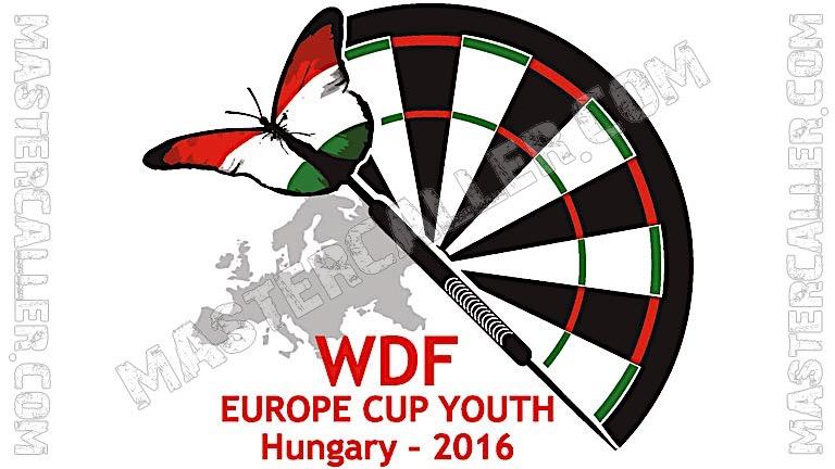 WDF Europe Cup Youth Boys Teams - 2016 Logo