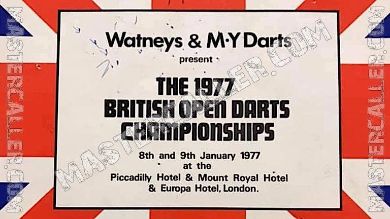 British Open Men - 1977 Logo