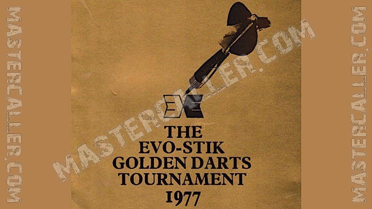 Golden Darts Tournament Singles - 1977 Logo