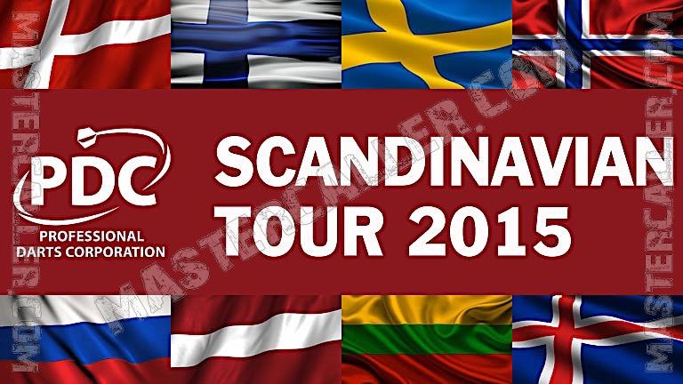 PDC Nordic & Baltic Tour - 2015 ST 01 Copenhagen Logo