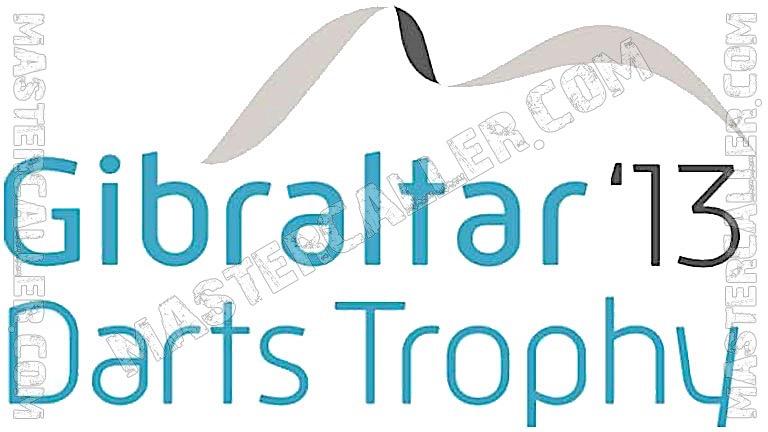 Gibraltar Darts Trophy - 2013 Logo