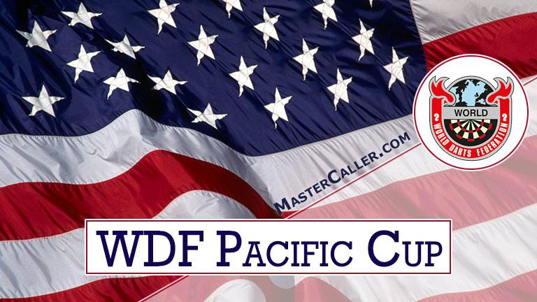 WDF Pacific Cup Men Pairs - 1984 Logo