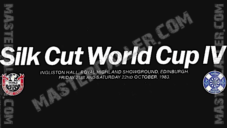 WDF World Cup Men Singles - 1983 Logo