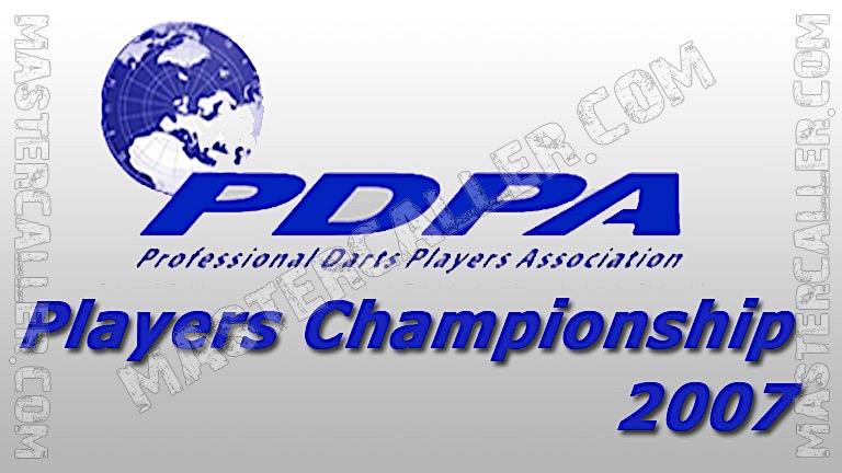 Players Championships - 2007 PC 08 Hayling Island Logo