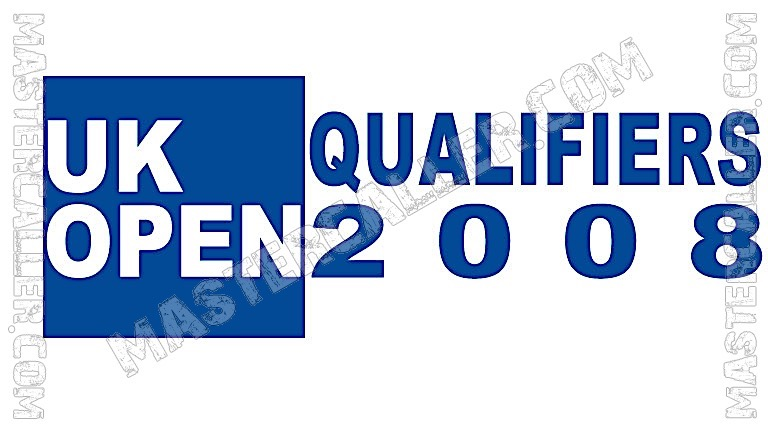 UK Open Qualifiers - 2008 UK QF 2 Dublin Logo