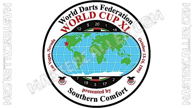 WDF World Cup Ladies Pairs - 1993 Logo