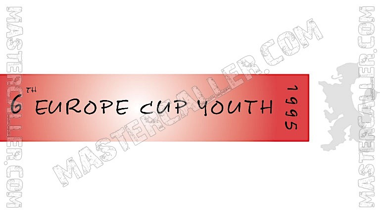 WDF Europe Cup Youth Boys Teams - 1995 Logo