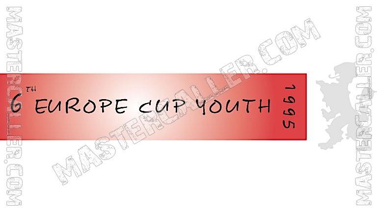 WDF Europe Cup Youth Boys Teams - 1995 Logo