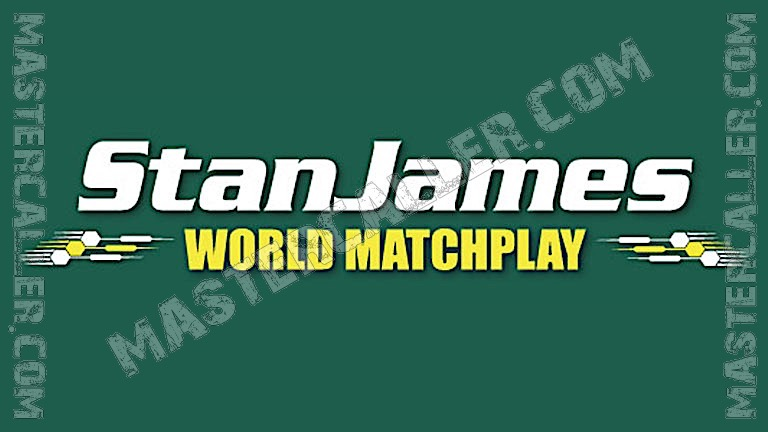World Matchplay - 2002 Logo