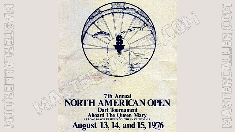 North American Open Men - 1976 Logo