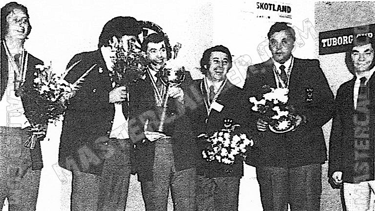 Beker van WDF Europe Cup Men Overall - 1978