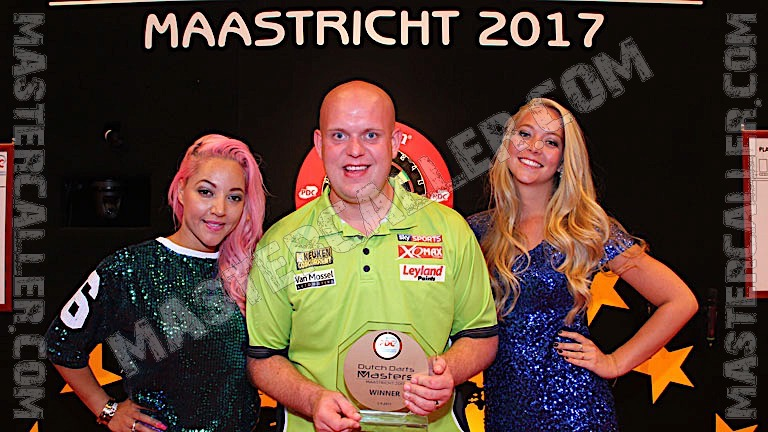 Kampioen Dutch Darts Masters 2017