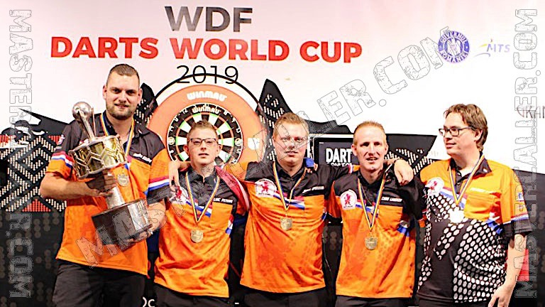 Trophy of WDF World Cup Men Overall - 2019